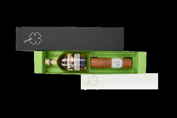 Schieberbox Glück - Zigarre und Whisky