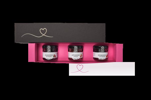 Schieberbox Liebe - Konfitüren